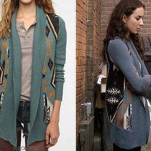 Ecote Blue Intarsia Cardigan ASO Spencer Hastings